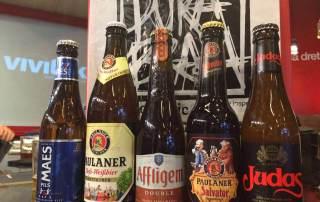 Cata cervezas en Pura Brasa