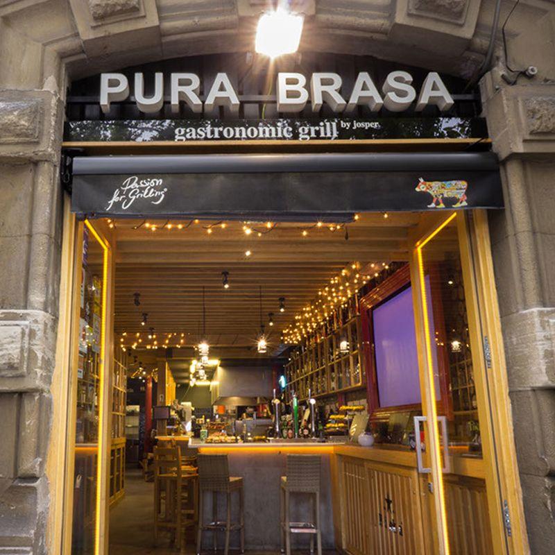 Restaurante Pura Brasa en Bilbao