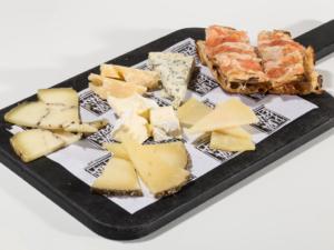 Surtido de quesos del mundo