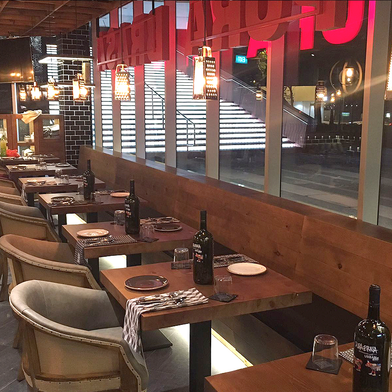 Restaurante Asador en Singapur