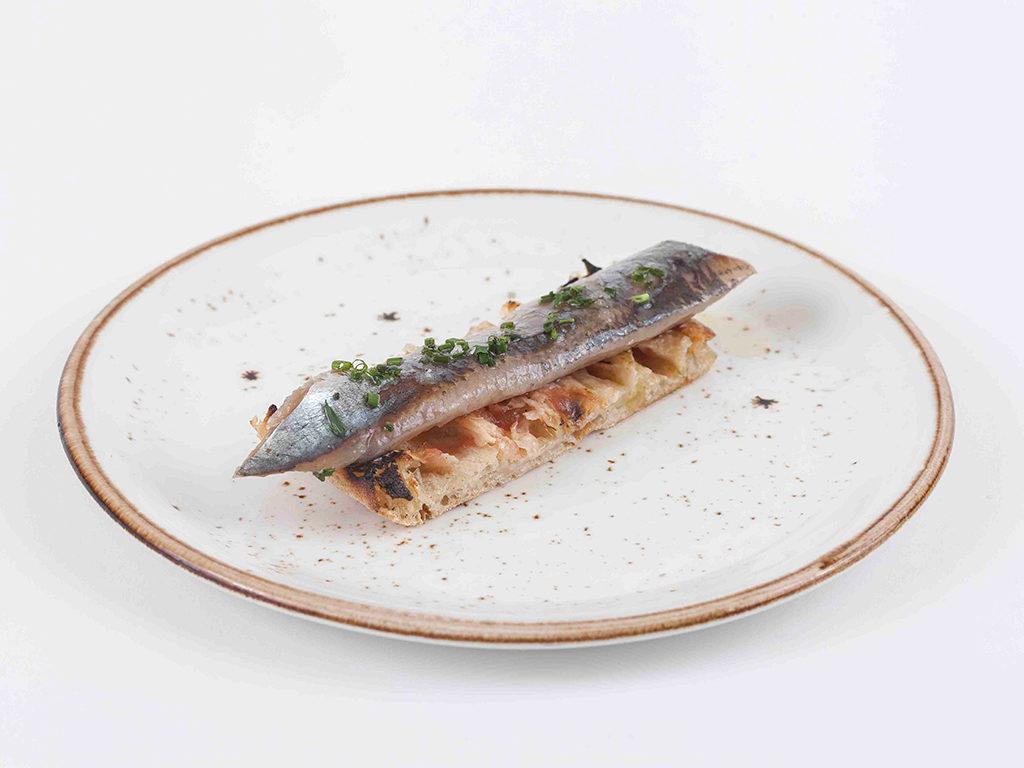 Ligote de sardina ahumada