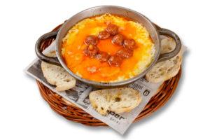 Cazuelita de queso