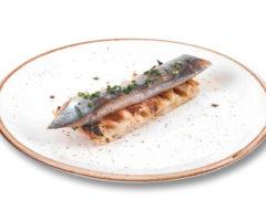 Lingote de sardina ahumada