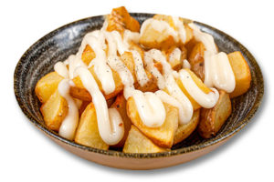 """Patatas con """"allioli"""""""